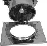 Turbo-Q-vent met bodemplaat 200mm_