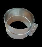 Rookkanaal dubbelwandig Holetherm 150mm Extra Brede Klemband 16cm_