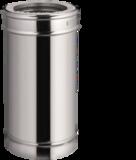 Rookkanaal dubbelwandig 150/200mm 1 meter zonder klemband _