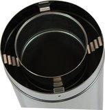 Holetherm  Concentrisch gaspijp 130 / 200 L=100cm_