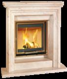 Inbouwhaard hout Hark 300 H ECOplus rendement 84,5 met fijnstoffilter _
