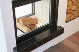 Inbouwhaard hout Hark 950/2/57-70 K ECOplus rendement 83% met fijnstoffilter_
