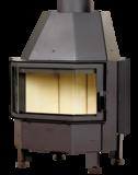 Inbouwhaard Hark 800-45 K zonder fijnstoffilter rendement 80_