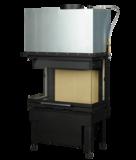 Inbouwhaard Hark 550-30-48-66.29 H zonder fijnstoffilter rendement 78_