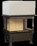 Inbouwhaard Hark 550-30-60-66.44 H zonder fijnstoffilter rendement 78_