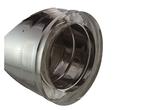 Rookkanaal dubbelwandig Techno 150/200mm Schuifelement L-560-850mm T-600 _
