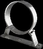 Muurbeugel vast 60mm Techno (150/)200mm rvs T-600_