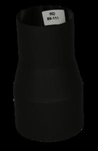 Verloopstuk Isotube 89 - 111 Zwart