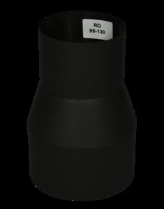 Verloopstuk Isotube 99 - 130 Zwart