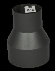 Verloopstuk Isotube 99 - 150 Grijs-Antraciet