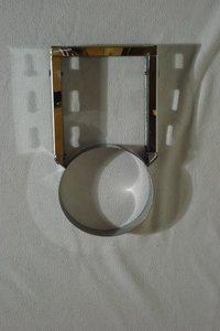 rvs Luxe Muurbeugel Zware uitv. RVS L=200-400mm tbv Diamond 125mm DW Rookkanaal