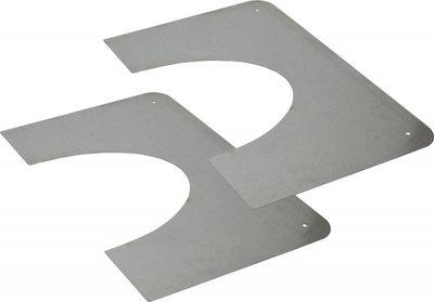 Brandseparatieplaat 5-45 graden tbv DW 150/200mm