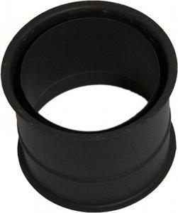 Enkelwandig  Ø150mm Inmetsel Nisbus (kleur zwart)
