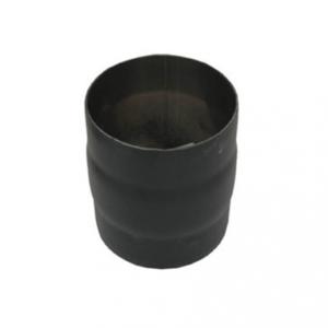 Enkelwandig 150mm Mof m-m (kleur zwart)