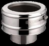 Rookkanaal Onder Aansluitstuk verloop DW 150-EW 150/200 T-600 Diamond Basic Line