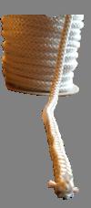 Kachel Koortje 8mm Wit