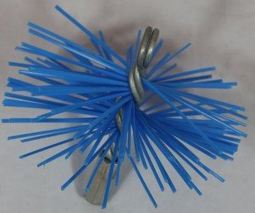 Nylonborstel rond Ø150mm Voor RVS Rookkanalen