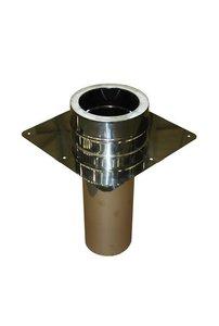Rookkanaal dubbelwandig Holetherm 150mm Schoorsteenaansluitstuk