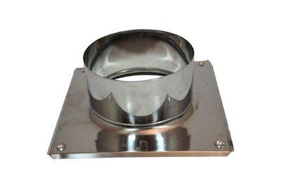 Rookkanaal dubbelwandig Dakplaat/doorvoer PDS 220mm
