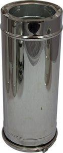 Holetherm dubbelwandig rookkanaal 200mm L-50cm