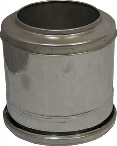 Holetherm dubbelwandig rookkanaal 200mm Topsectie