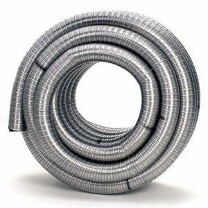 Flexibel Enkelgedraaid 90mm pijp L-100cm