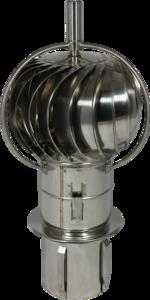 Turbo-Q-vent Draaikap insteekpijp 180mm