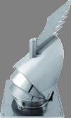 Roto-Q-vent Gek 150mm Base