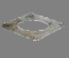 Q-Colt vierkante adaptorplaat