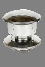 Rookkanaal dubbelwandig Holetherm 125mm Trekkap