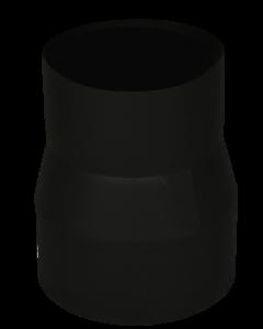 Verloopstuk Isotube 119 - 150 Zwart