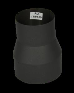 Verloopstuk Isotube 119 - 150 Grijs-Antraciet