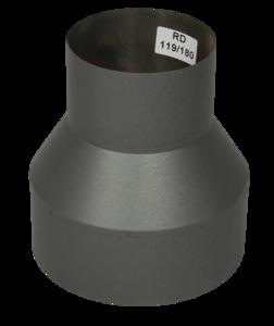 Verloopstuk Isotube 119-180 Grijs-Antraciet