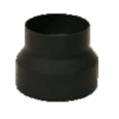 Verloopstuk 2mm 118-130mm gelast staal