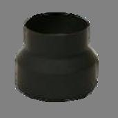 Verloopstuk 2mm 118-150mm gelast staal
