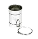 Holetherm enkelwandig rookkanaal 200mm L-25cm