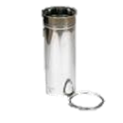 Holetherm enkelwandig rookkanaal 200mm Paspijp 50cm