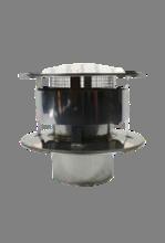 Holetherm enkelwandig rookkanaal 200mm Trekkap met gaas