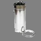Holetherm enkelwandig rookkanaal 175mm L-50cm