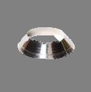 Holetherm enkelwandig rookkanaal 175mm Rozet Verstelbaar