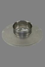 Holetherm enkelwandig rookkanaal 175mm Afdek Element