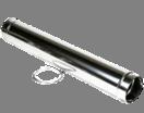 Holetherm enkelwandig rookkanaal 250mm L-100cm