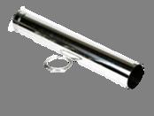 Holetherm enkelwandig rookkanaal 250mm Paspijp 100cm
