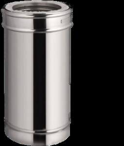 Sauna Kachelpijp DW  150mm 1meter zonder klemband
