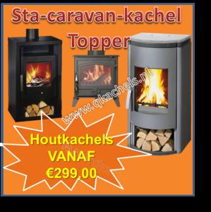 Sta Caravan HoutKachel Topper