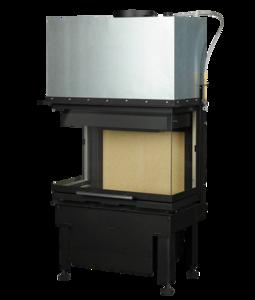 Inbouwhaard Hark 550-30-48-66.29 H zonder fijnstoffilter rendement 78