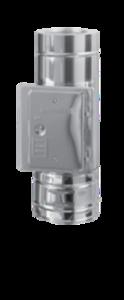 Dubbelwandig 150/215 mm L=500 mm met veegluik Hark Premium