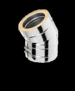 Dubbelwandig bocht 30° 200/265 mm Hark Premium