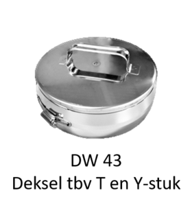 Deksel t.b.v Y en T-stuk Hark 200/265 mm Premium